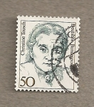 Stamps Germany -  Claudia Teusch