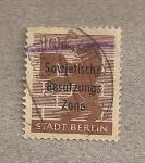 Stamps Germany -  Berlín, ocupación soviética