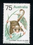 Sellos del Mundo : Oceania : Australia : Feather-tailed glider