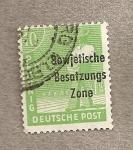 Sellos de Europa - Alemania -  Zona de ocupación soviética