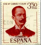 Stamps Spain -  Gabriel y Galan