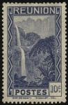 Sellos de Europa - Francia -  Cascada de SALAZIE en la Isla de Reunión.