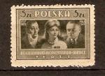Sellos de Europa - Polonia -  BOGUSLAWSKI, MODJESKA, JARACZ