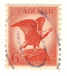 Stamps United States -  aguila
