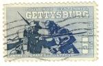 Stamps United States -  civil war centennial Gettysburg