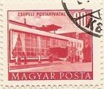 Stamps Hungary -  CSEPELI POSTAHIVATAL