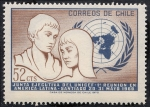 Stamps Chile -  Unicef
