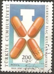 Stamps : Asia : Turkey :  salud - no a la automedicacion