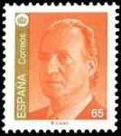 Sellos de Europa - España -  ESPAÑA 1993 3262 Sello Nuevo Serie Basica Rey S.M. D. Juan Carlos I 65p Michel3120 Scott2732