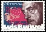 Sellos de Europa - España -  ESPAÑA 1994 3277 Sello Nuevo Pioneros Cine Español Luis Buñuel Michel3135 Scott2757