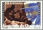 Stamps Spain -  ESPAÑA 1994 3278 Sello Nuevo Pioneros Cine Español Segundo de Chomón Michel3136 Scott2758