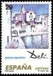 Sellos del Mundo : Europa : España :  ESPAÑA 1994 3291 Sello Nuevo Pintura Española Obras de Salvador Dalí Port Alguer Michel3152