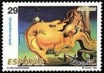 Sellos del Mundo : Europa : España :  ESPAÑA 1994 3292 Sello Nuevo Pintura Española Obras de Salvador Dalí El Gran Masturbador Michel3153