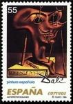 Sellos de Europa - España -  ESPAÑA 1994 3294 Sello Nuevo Pintura Española Obras de Salvador Dalí Autorretrato Blando Michel3155