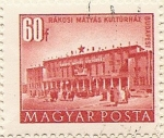 Stamps Hungary -  RÁKOSI MÁTYÁS
