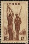 Stamps Africa - Togo -  Togo. Mujeres de tribu, preparando el almuerzo.