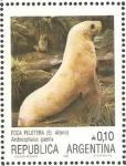 Sellos del Mundo : America : Argentina : foca peletera