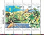 Stamps Chile -  425 años descubrimiento archipielago juan fernandez
