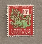 Sellos de Asia - Vietnam -  Sello tasa