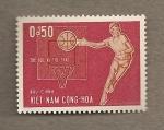 Stamps Vietnam -  Baloncesto