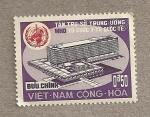 Sellos de Asia - Vietnam -  Edificio de la WHO