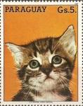 Stamps Paraguay -  Gatos II