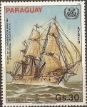 Stamps Paraguay -  Barco Escuela Stein