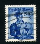 Stamps Austria -  ciudad de kitzbuhel
