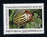 Stamps Austria -  VI Congreso Internacional de Plagas