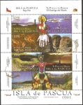 Stamps of the world : Chile :  1789 a 1796 - Isla de Pascua