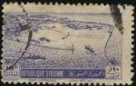 Stamps Syria -  Puerto de la ciudad de LATAKIA, en el Mediterráneo.