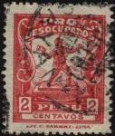 Stamps America - Peru -  Tasa obligatoria pro desocupados.