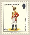 Sellos de Europa - Reino Unido -  Military Uniforms