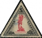 Stamps Nicaragua -  Homenaje al soldado nicaraguense.