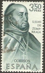 Stamps : Europe : Spain :  1999 - Forjador de América, Fray Juan de Zumárraga
