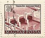 Stamps Hungary -  TISZALOKY DUZZASZTUGAT