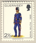 Stamps United Kingdom -  Military Uniforms