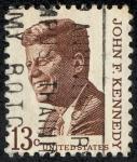 Sellos de America - Estados Unidos -  J.F. Kennedy