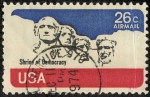 Stamps United States -  Rostros
