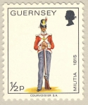Stamps of the world : United Kingdom :  Military Uniforms