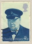 Sellos de Europa - Reino Unido -  Birth Centenary of Sir Winston Churchill