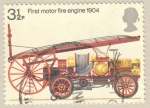 Stamps United Kingdom -  Bicentenary of the Fire Prevention