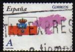 Sellos de Europa - España -  ESPAÑA 2009 4449 Sello Banderas y Mapas Cantabria Usado