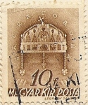 Stamps of the world : Hungary :  SACRA CORONA