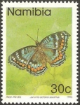 Stamps Africa - Namibia -   mariposa