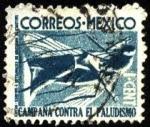 Stamps America - Mexico -  Tasa obligatoria campaña contra el paludismo y el mosquito transmisor.