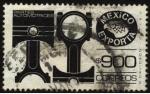 Stamps Mexico -  México exporta partes automotrices.