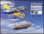 Stamps America - Ecuador -  1º Dirigible Ecuatoriano No Tripulado