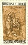 Stamps Vatican City -  La Natividad