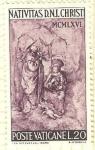 Sellos de Europa - Vaticano -  La Natividad
